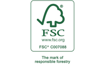 Look for FSC® (Forest Stewardship Council®) Certified Products