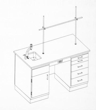 Traditional Teacher Demonstration Centers - End Sink Version (5' Version)