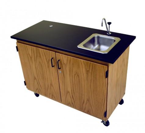 Portable Teacher Demo Units & Desks - Portable Demonstration Center