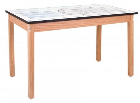 Four legged imprint top table