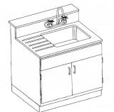 75600/75605 Sink Station