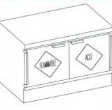 Combo Acid_Flam Cabinet
