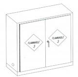Flam Storage Cabinet Wood