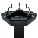Trifacial Sink Center
