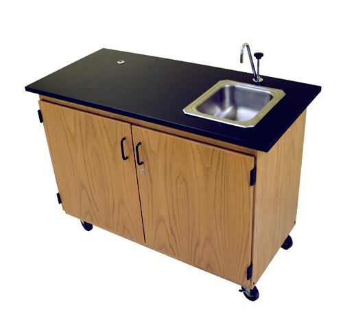Portable Demo Station with Sink | Sheldon Laboratory Systems