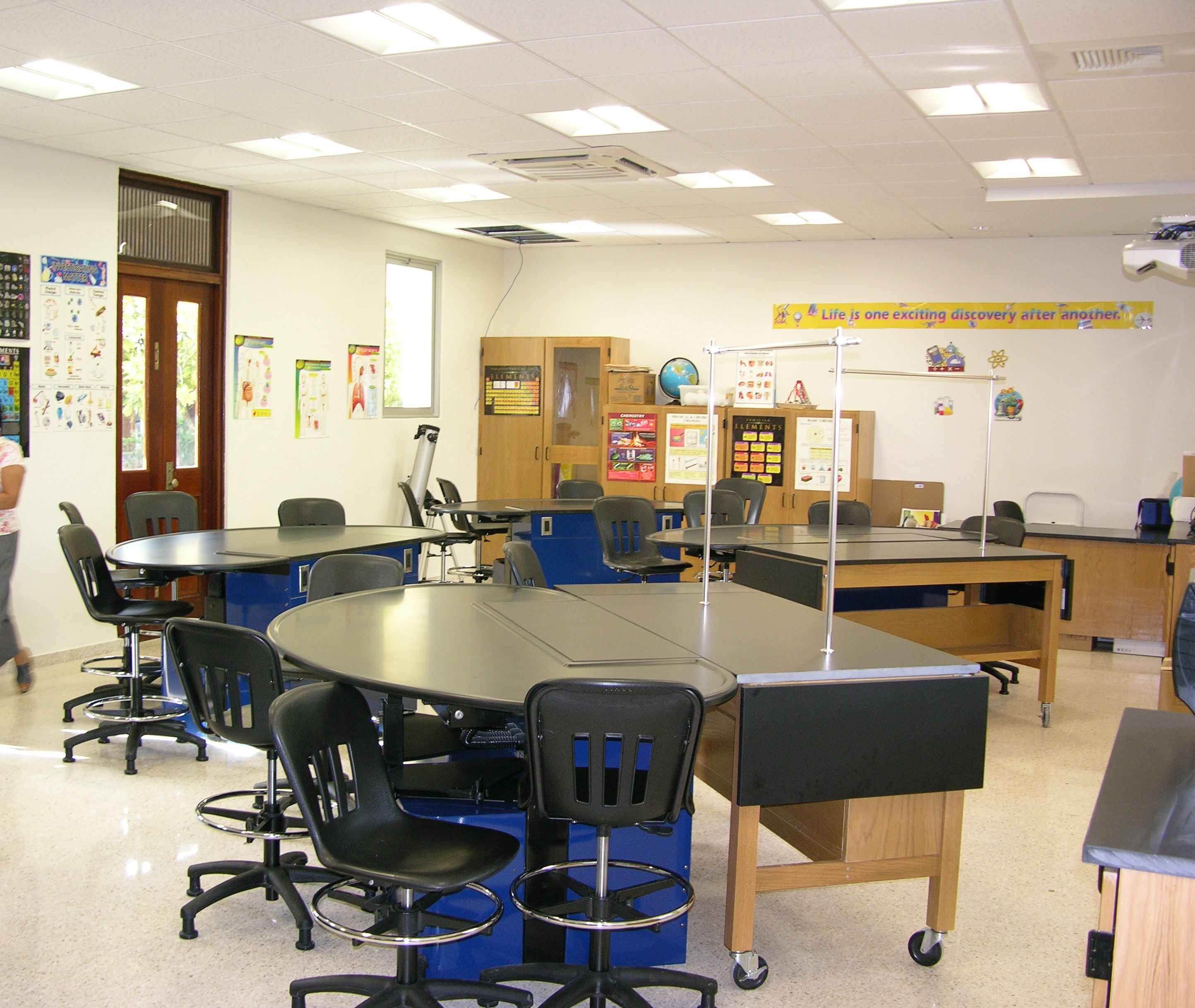 Furniture Equipment Provided By Sheldon Labs To Robinson School Included